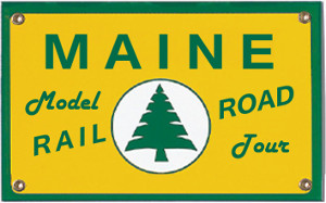 Maine Model Railroad Tour Logo