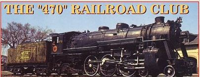 The 470 Railroad Club logo